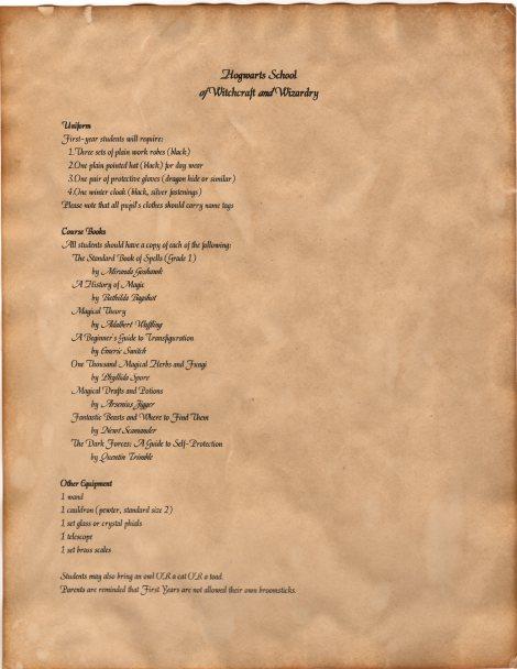 Letters Lemon Zest Hogwarts Acceptance Letter Envelope Template KlATVSIB